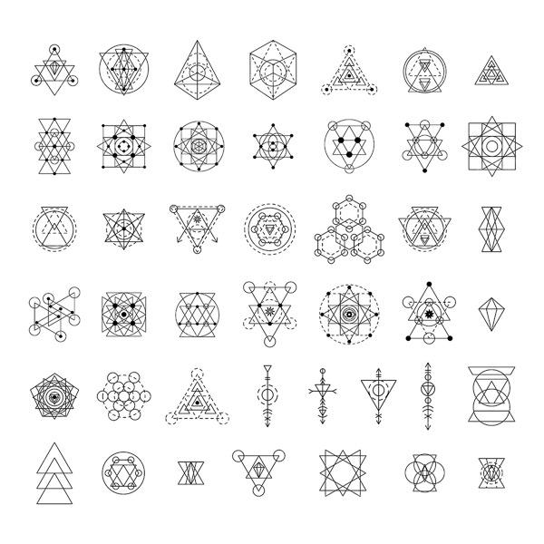 几何图案符号