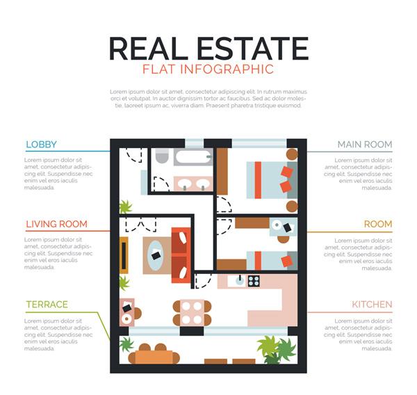 创意房屋户型图