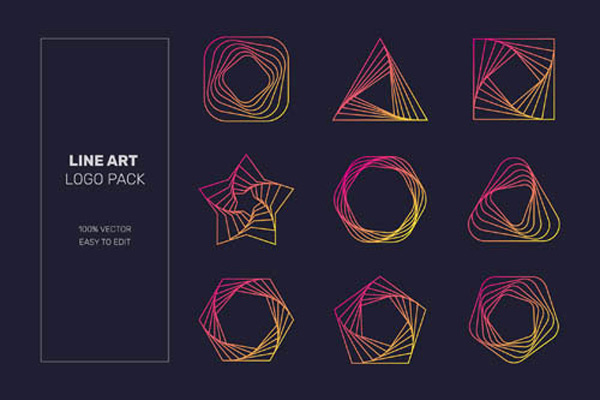 矢量素材,矢量图,设计素材,创意设计,标志设计,logo设计,几何,图形