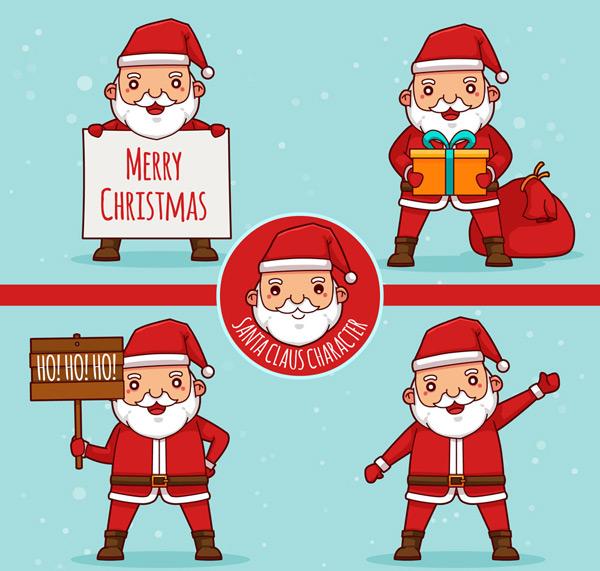 礼包,礼物,礼盒,木牌,圣诞节,圣诞老人,矢量图,ai格式 下载文件特别