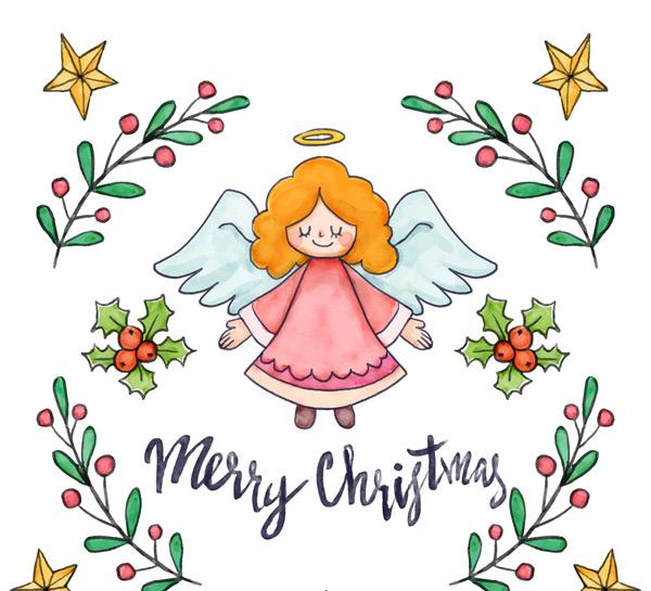 素材分类: 矢量圣诞节所需点数: 0 点 关键词: 可爱金发圣诞天使矢量