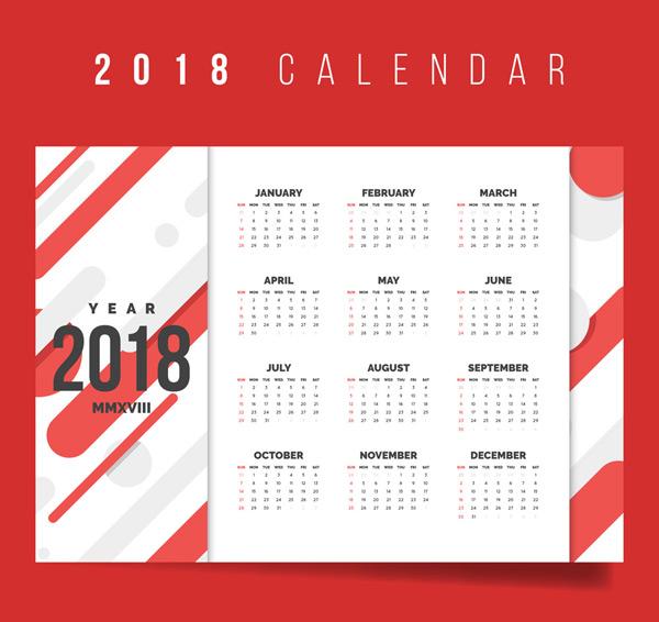 2018年狗年年历图片