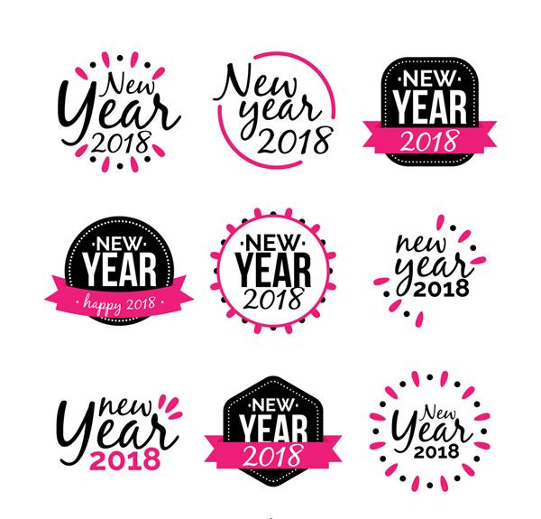 新年快乐标签