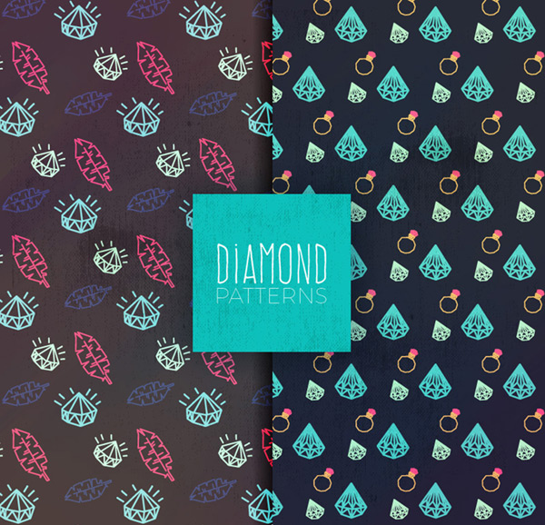 钻石无缝背景