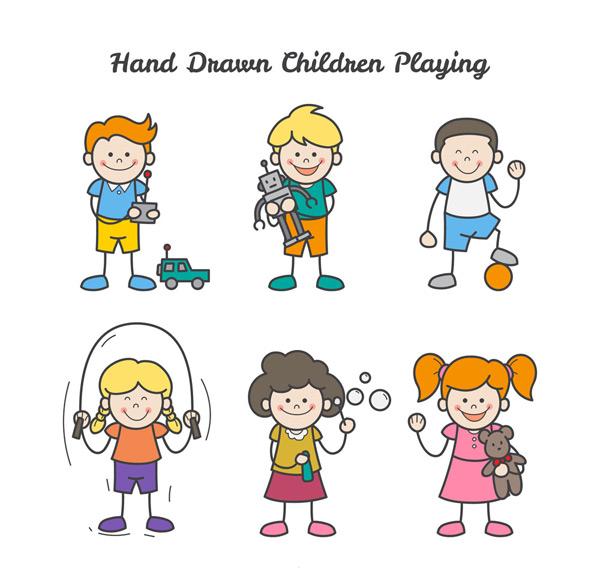 彩绘儿童设计
