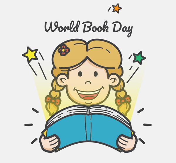 世界图书日女孩