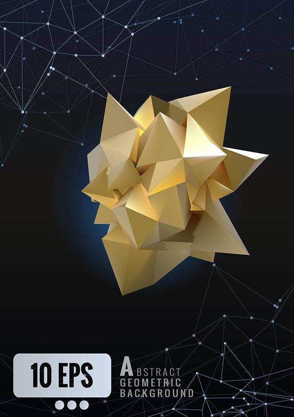 抽象立体几何背景