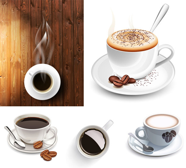 Coffee Cup vector material