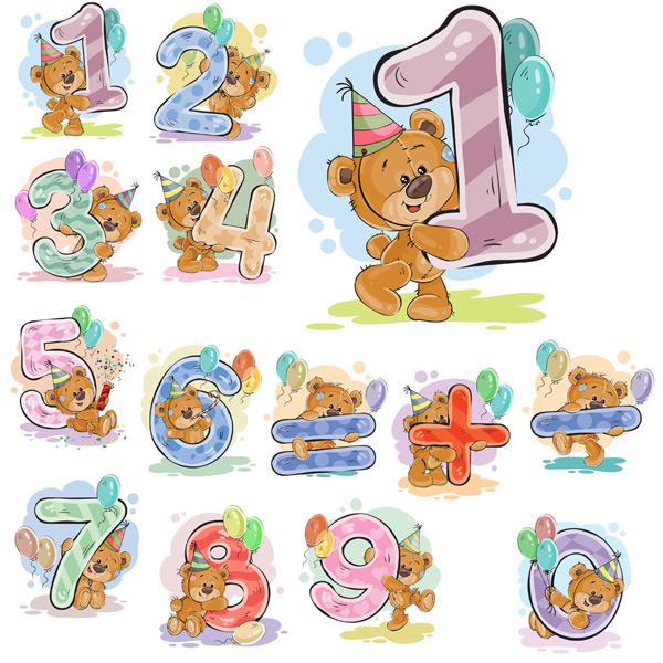 素材分类: 矢量卡通动物所需点数: 0 点 关键词: 10款彩绘熊数字艺术