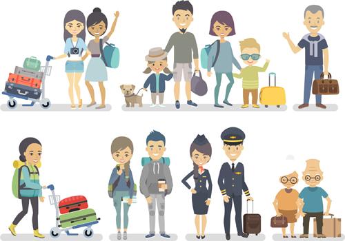 关键词: 旅游人物矢量素材,矢量素材,矢量图,设计素材,人物,旅游,旅行