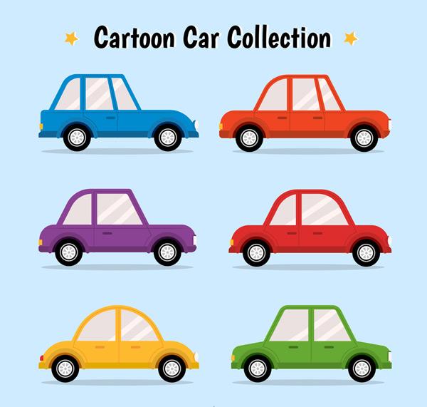 0 点 关键词: 6款卡通轿车设计矢量素材,卡通,轿车,车,交通工具,矢量