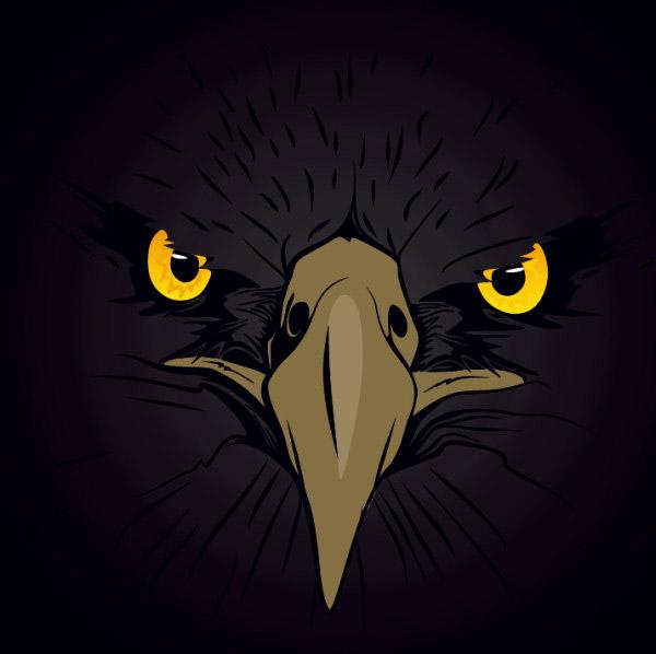 动物,头像,图形,图案,鹰,矢量素材,eps格式 下载文件特别说明:本站