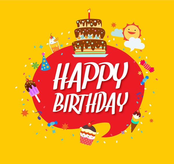 素材分类: 矢量生日所需点数: 0 点 关键词: 可爱生日快乐语言气泡图片