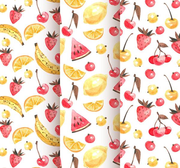 水果无缝背景