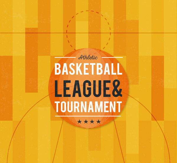 篮球联赛海报