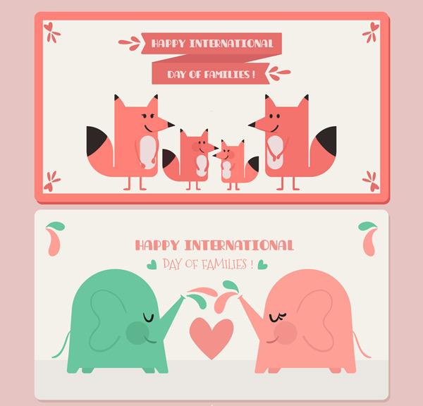 可爱国际家庭日