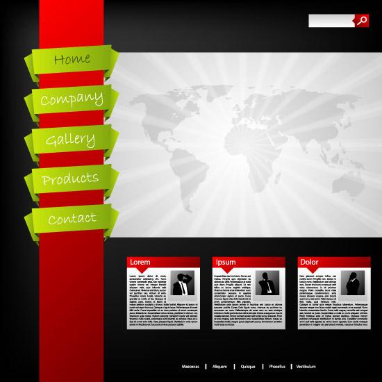 商务网站首页