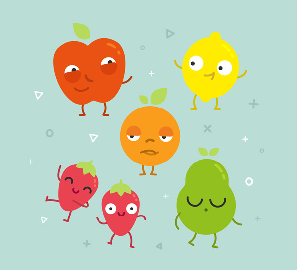 qq可爱头像水果