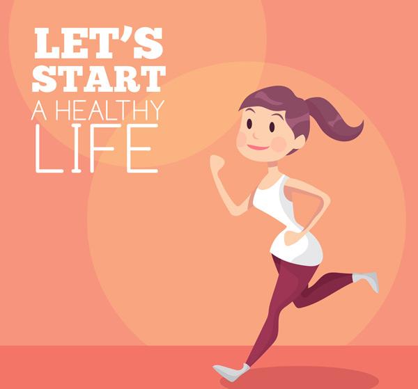 0 点 关键词: 创意跑步健身女子矢量素材,跑步,健身,女子,运动,矢量