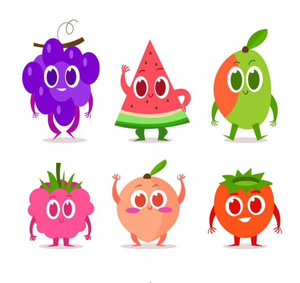 0 点 关键词: 6款卡通彩色表情水果矢量素材,葡萄,西瓜,草莓,桃子图片