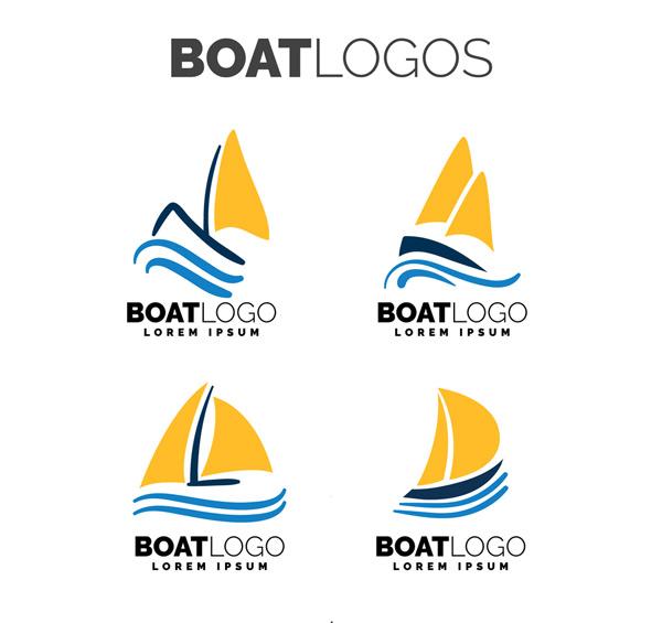 黄色帆船标志