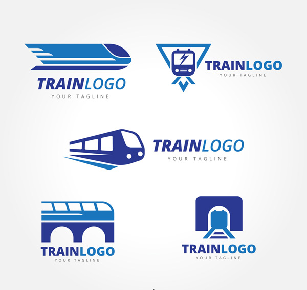 创意火车标志