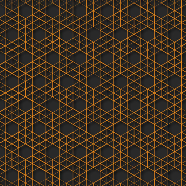六边形格纹背景