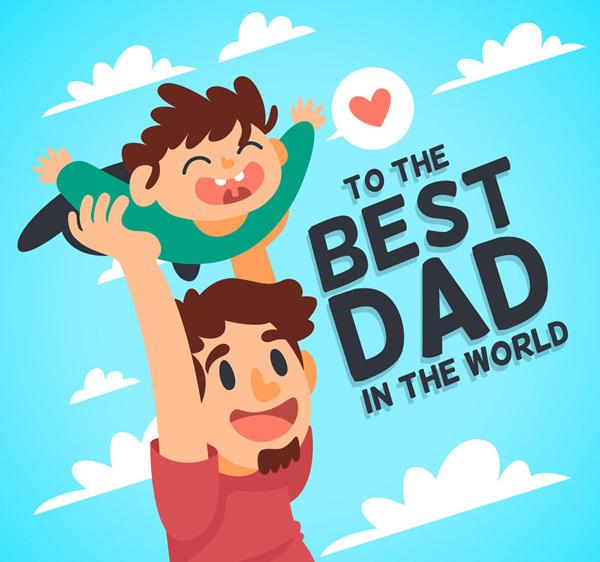 素材分类: 矢量父亲节所需点数: 0 点 关键词: 创意父亲节玩耍的父