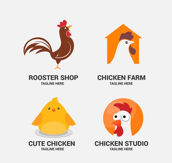 鸡元素标志