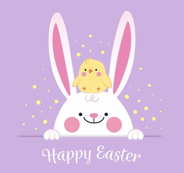 素材分类: 矢量节日其它所需点数: 0 点 关键词: 可爱兔子和小鸡复