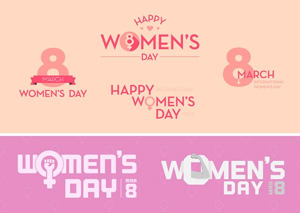 三八妇女节图标