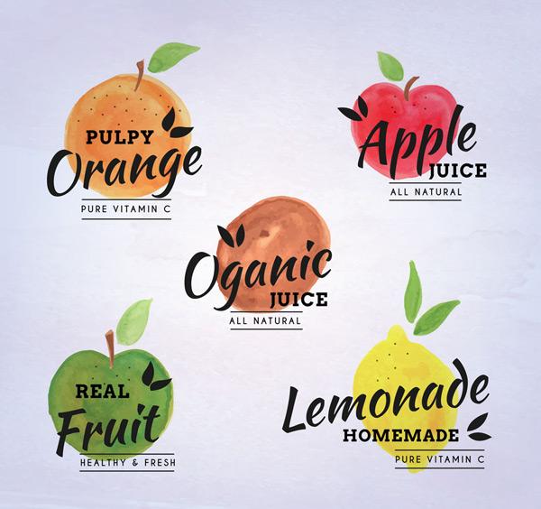有机果汁标签