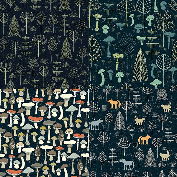 魔法森林背景图案