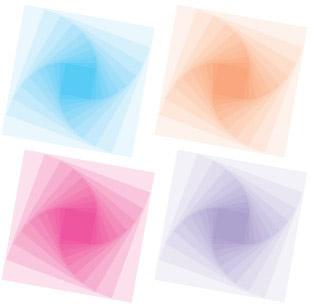 正方形叠加