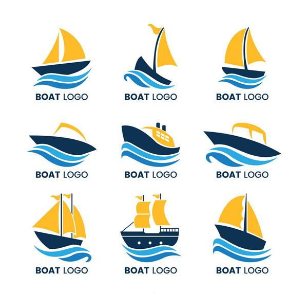 关键词: 9款创意船标志矢量素材,大海,航海,海浪,船,标志,帆船,矢量图