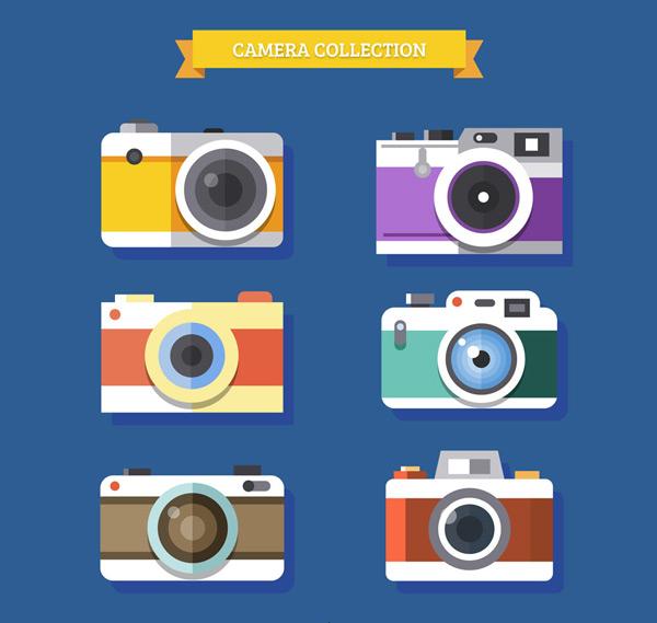 扁平化照相机