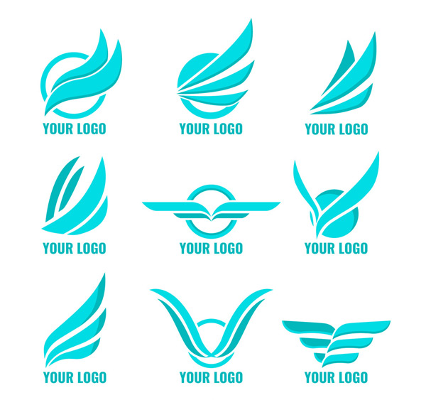 蓝色翅膀标志