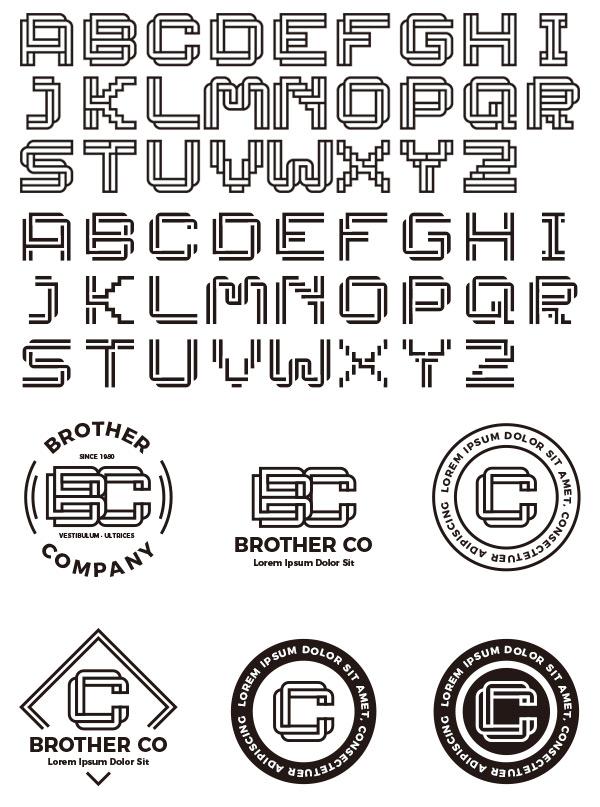 LOGO英文字体