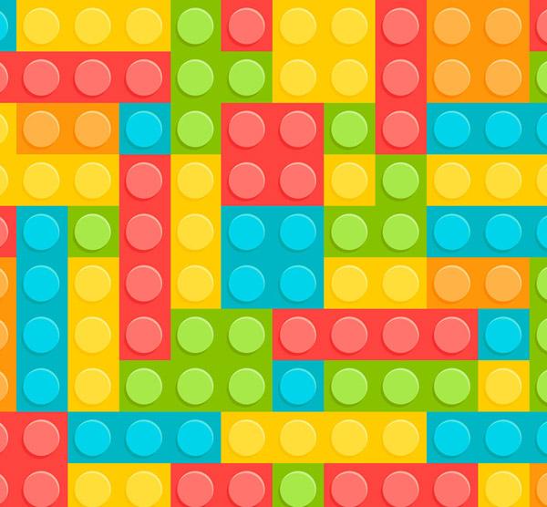 关键词: 彩色乐高积木背景设计矢量素材,乐高积木,背景,益智,矢量图