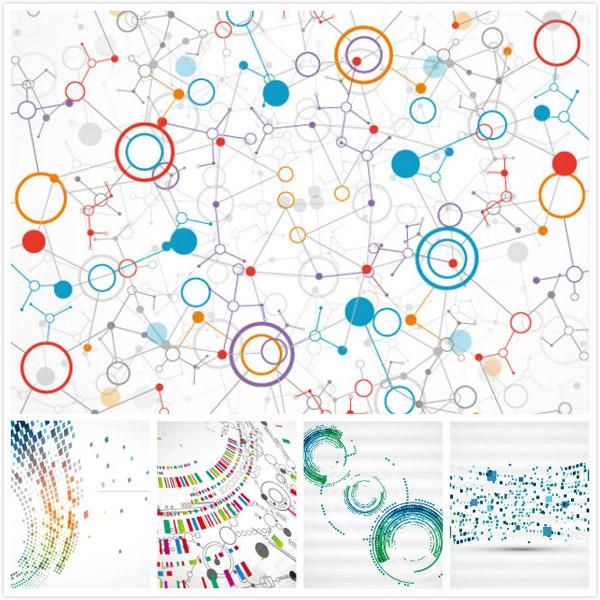 幾何圖形,排列組合,背景,陣列式,點線面,碎片組合,半調機理背景,eps