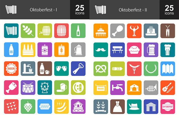 德国十月节图标
