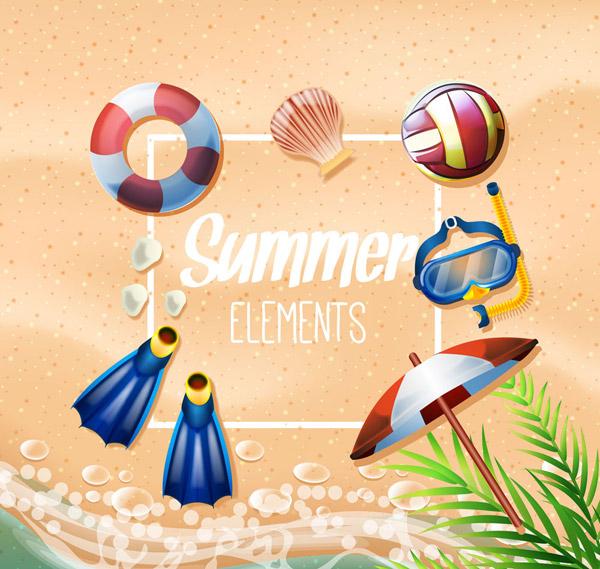 夏季度假用品