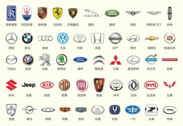 汽车标志psd,汽车品牌标志,汽车标志素材,cdr格式 下载文件特别说明