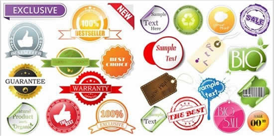 手势,保修标签,吊牌,贴纸,条形码,销售标贴图片素材,免费标签eps矢量图片