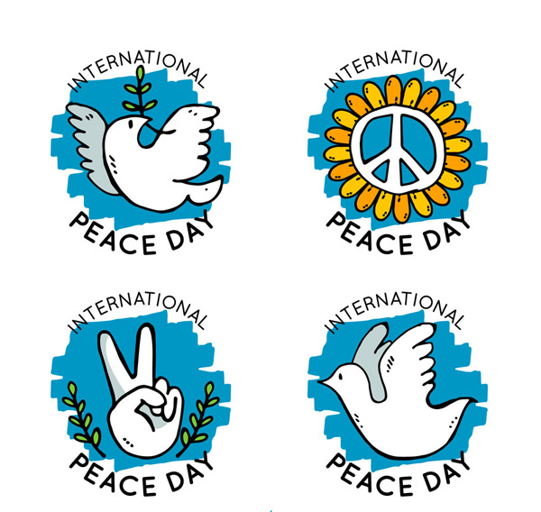 国际和平日标签