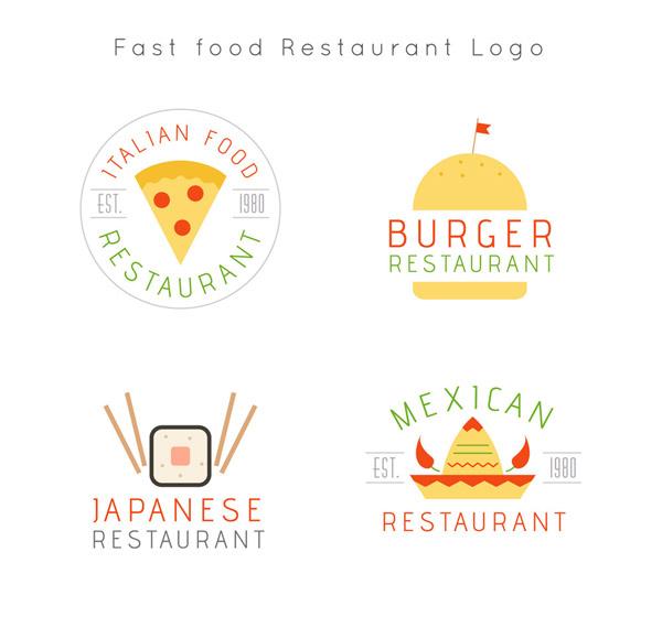 快餐餐馆标志