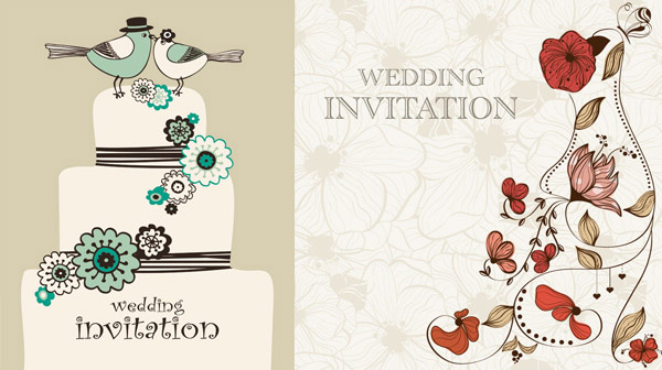 Wedding Invitation With Photo with adorable invitations template