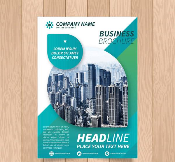 建筑商务宣传单