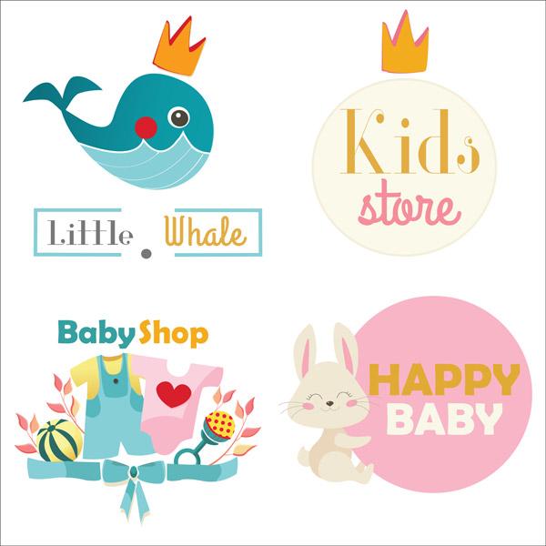 0 点 关键词: 儿童主题标志,儿童商店标志,玩具店标志,logo,可爱,矢量