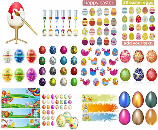 Easter eggs designs